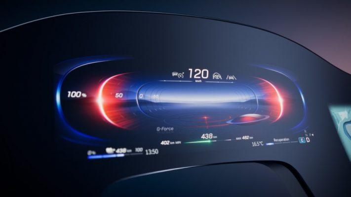 La superpantalla inteligente de Mercedes-Benz 12