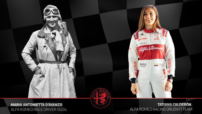 Las mujeres piloto de Alfa Romeo
