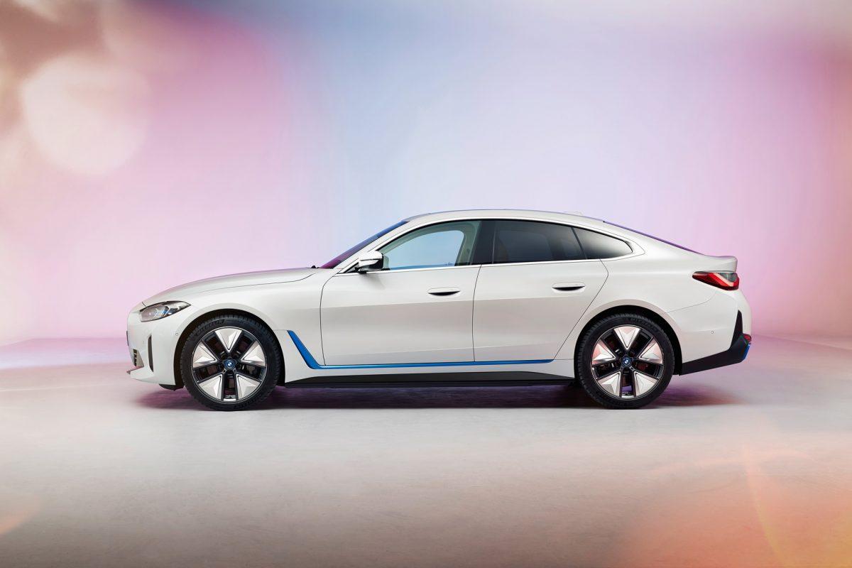 Sale a la luz el BMW i4 3