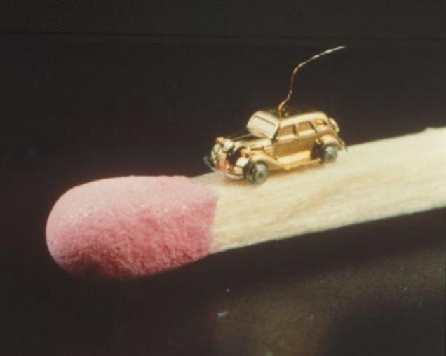 Un micro mini Toyota ¡¡Y funciona!! 1