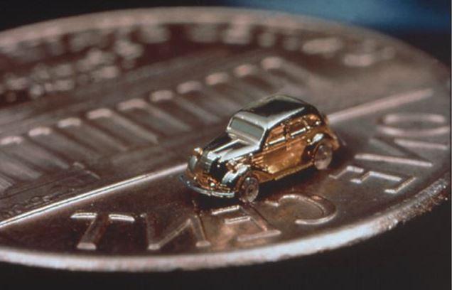 Un micro mini Toyota ¡¡Y funciona!! 2