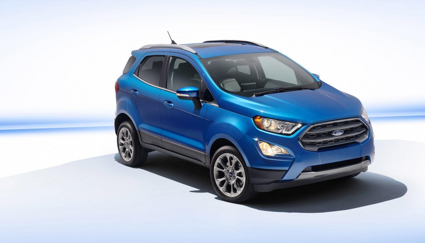 Así es repensada la Ford Ecosport 3
