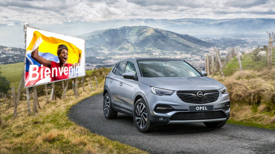 Opel a Colombia