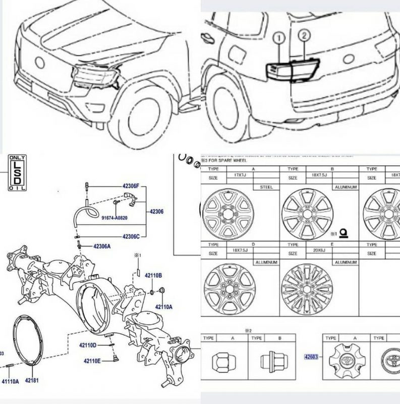 Filtrada la Toyota LC300