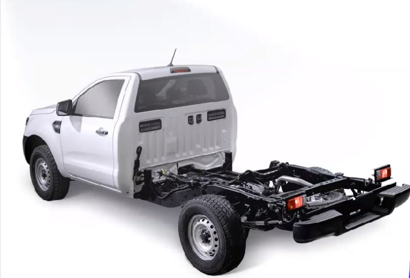 Ford Ranger chasís se estrena en Colombia