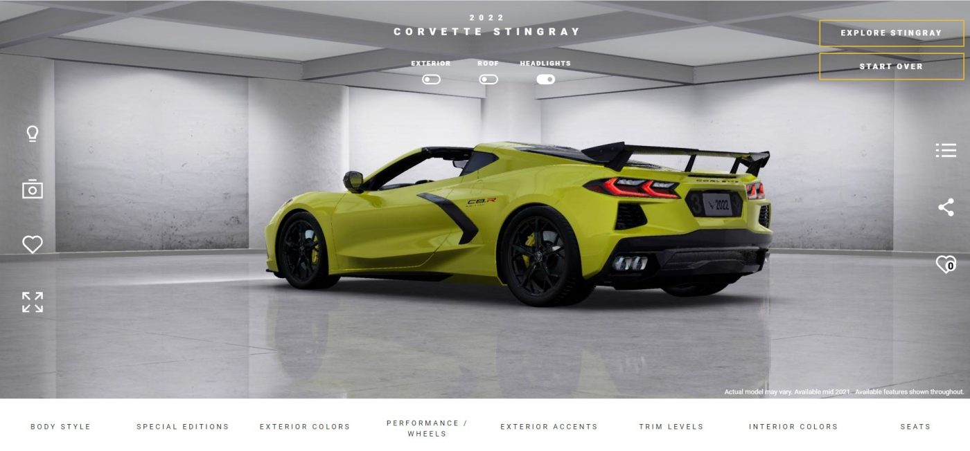 Corvette 2022