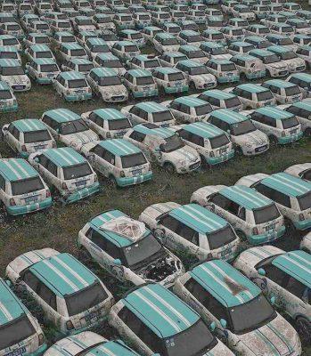 Cementerio de Lifan eléctricos en China