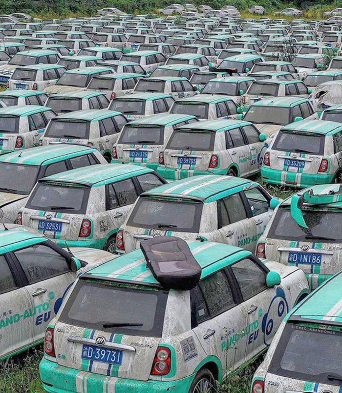 Cementerio de Lifan eléctricos en China 3