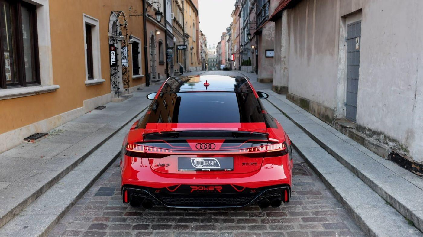 El Audi RS7 más veloz del mundo