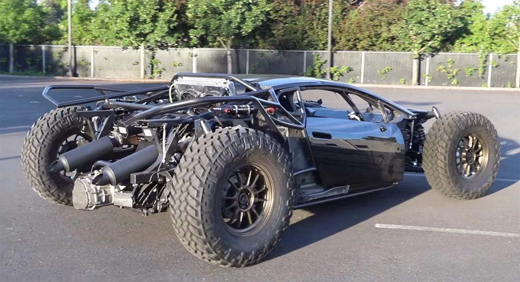 Otro Lamborghini offroad