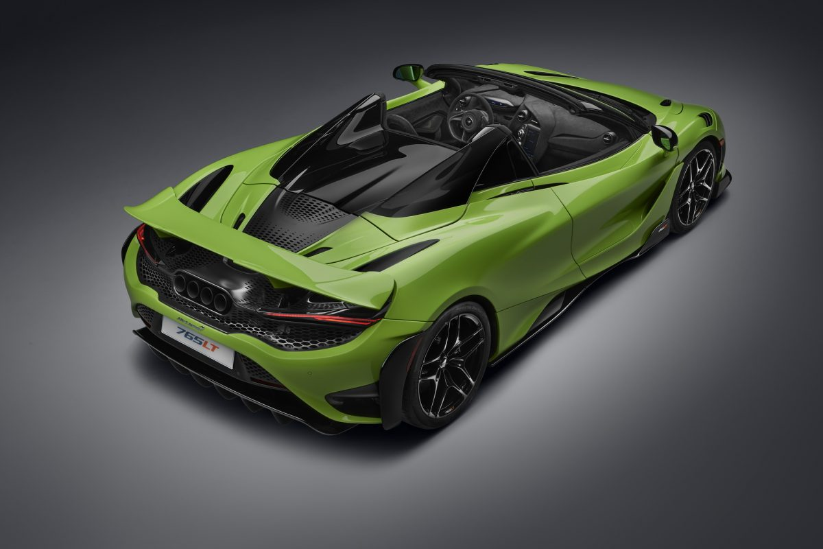 El McLaren convertible más poderoso de la historia