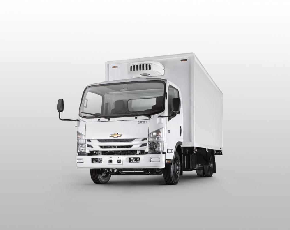 Nuevo camión Chevrolet NRR