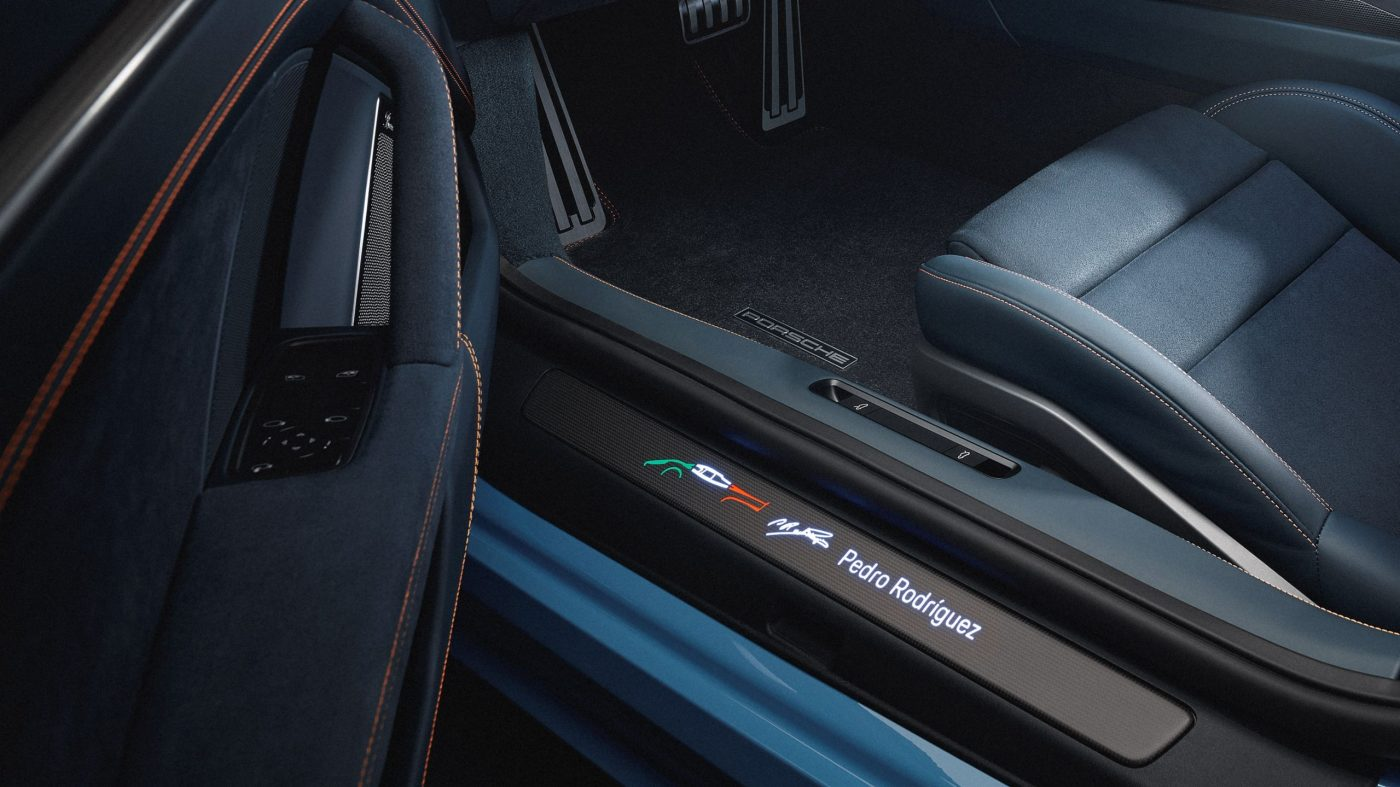 Porsche 911 Turbo S 'One Of a Kind' en honor a Pedro Rodríguez