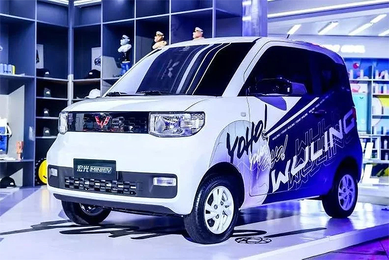 GM-Wuling gana $50 mil por cada Hong Guang EV vendido