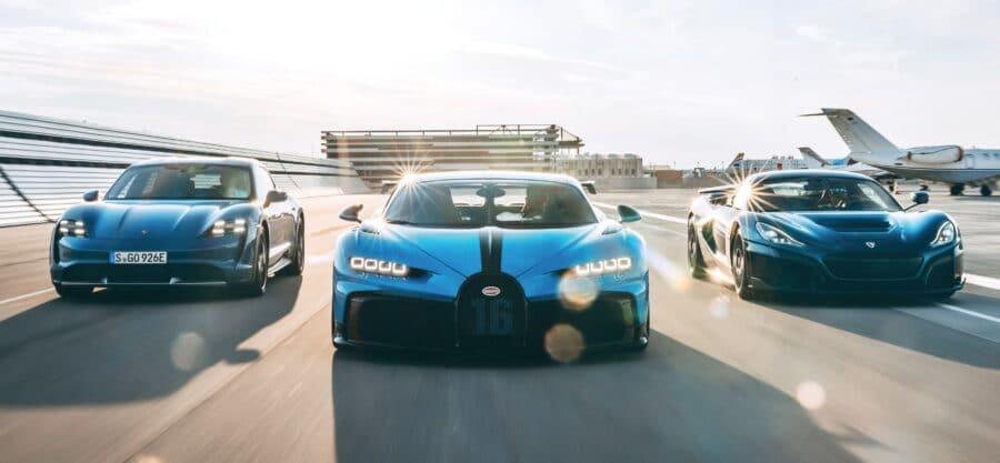 Porsche y Rimac los nuevos socios de Bugatti