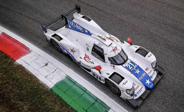 Detalles del WEC rookie test de Montoya