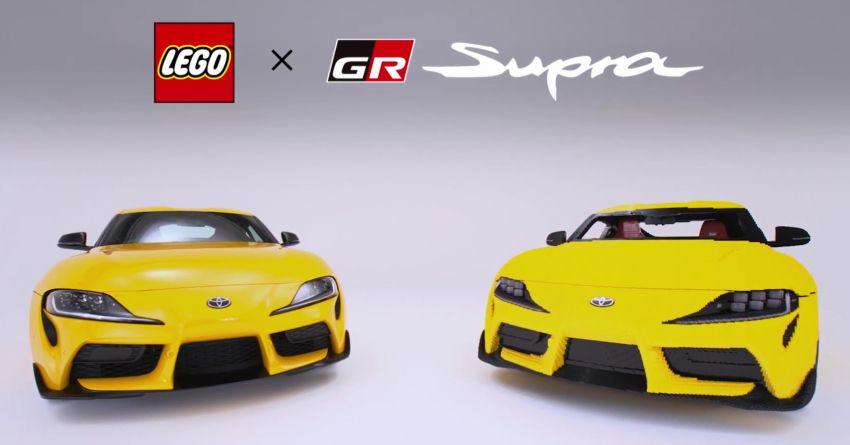 Un Toyota Supra de Lego