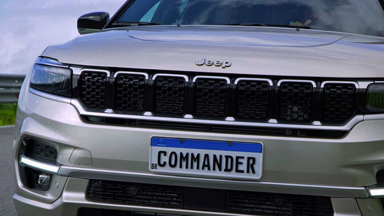 Oficial el Jeep Commander en Suramérica