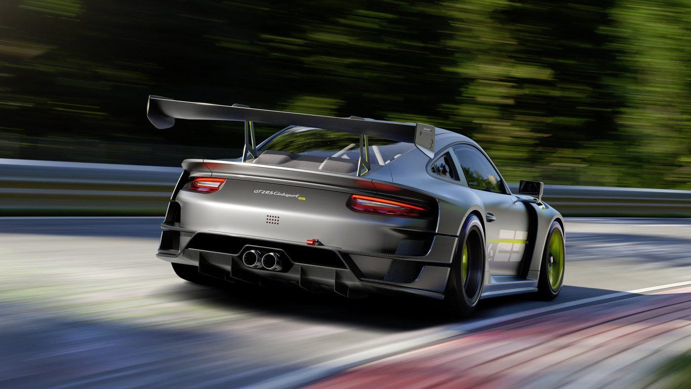 Porsche Manthey sólo para carreras