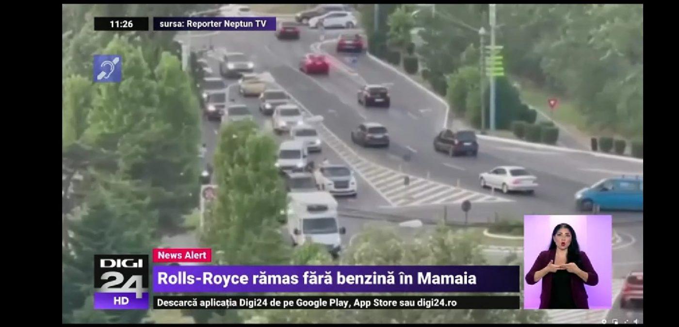 Rolls-Royce Wraith varado por gasolina