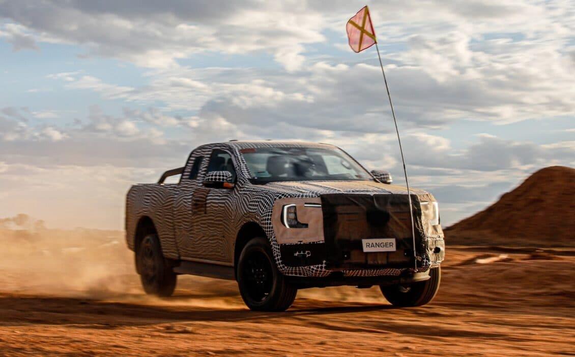 Detalles de la próxima Ford Ranger