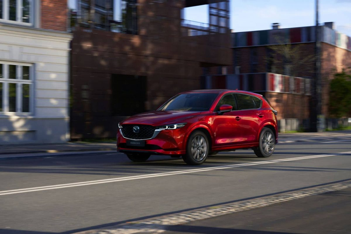 La Mazda CX-5 recibe actualización