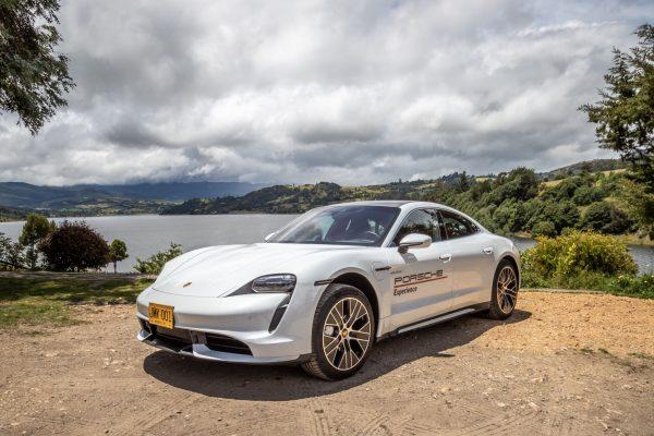 Porsche Taycan en recorrido electrizante por Boyacá