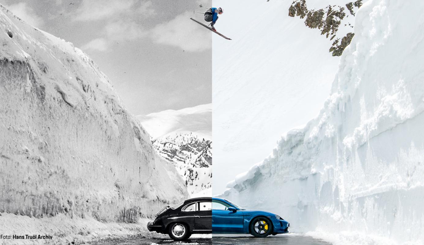 Se repite un legendario salto de Porsche