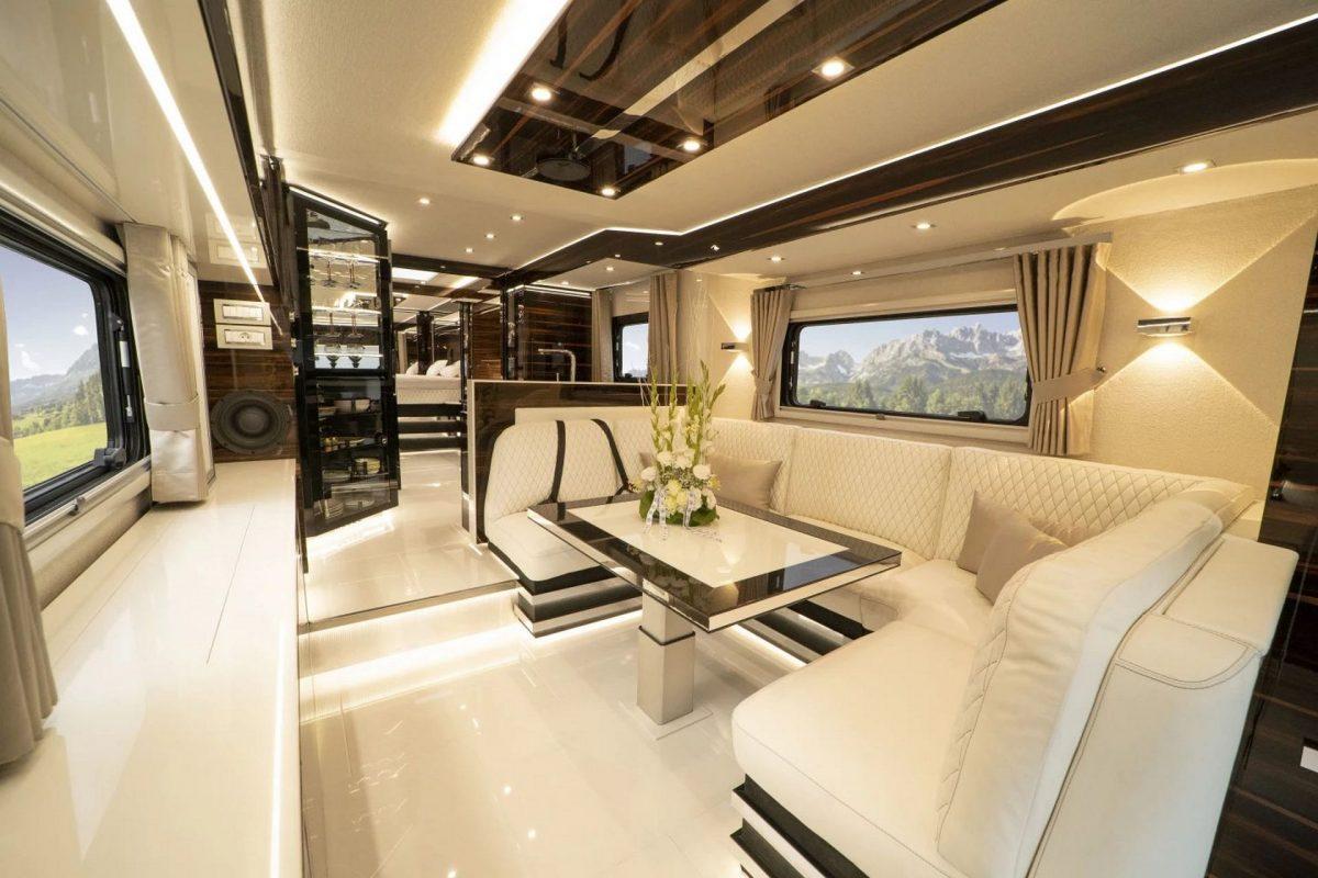Una lujosa casa rodante