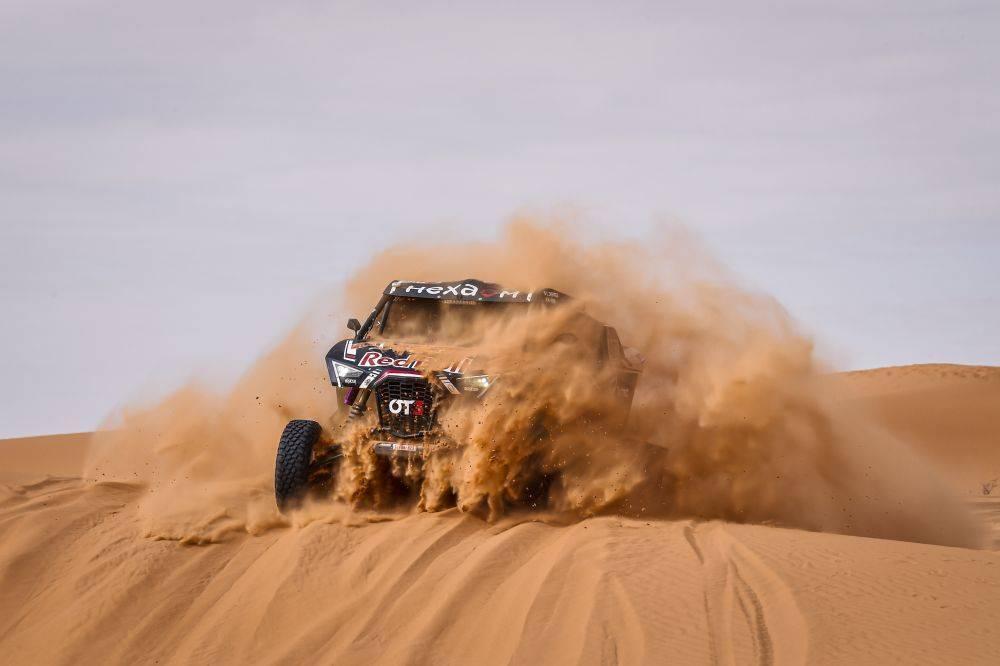 Dupla colombiana se prepara para el Dakar 2022